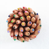 Color Pencil In Cup Royalty Free Stock Images