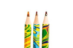 Color pencil for drawing Stock Images