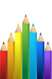 Color pencil graphic Stock Photography