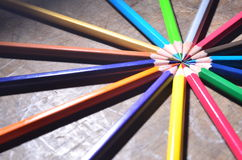 The color pencil Royalty Free Stock Images