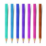Color Pencil paper craft Stock Photo