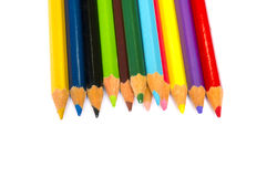 Color pencil. On white background Royalty Free Stock Image