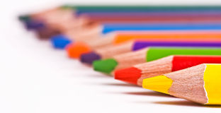 Color pencils Royalty Free Stock Photos