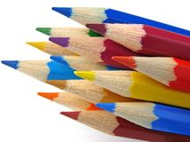 Color pencils Stock Photos