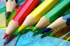 Free Color Pencils Stock Images - 1097704
