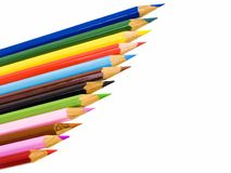 Color pencils Stock Photos