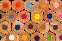 Color pencils. Back color pencils, background, different colors Royalty Free Stock Images