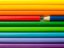 Color pencils. Some color pencils in detail Stock Photo