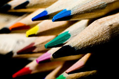 Free Color Pencils Royalty Free Stock Photo - 14486175