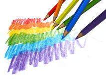 Free Color Pencils Royalty Free Stock Image - 16197216