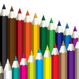Color pencils. Royalty Free Stock Photos