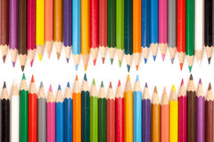 Color pencils Stock Photography