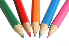 Color pencils. Royalty Free Stock Photography