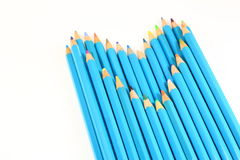 Love Color Pencils Royalty Free Stock Image