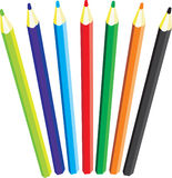 Color pencils. Stock Photos