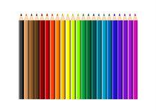 Color pencils Royalty Free Stock Photo