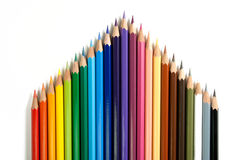 Color Pencils - 4 Stock Photography