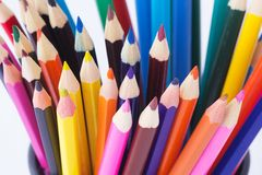 Free Color Pencils Royalty Free Stock Photography - 43862927