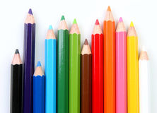 Color pencils Royalty Free Stock Photography