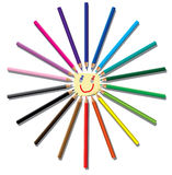 Color pencils. Stock Photo