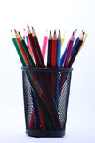 Color pencils. These are some color pencils Royalty Free Stock Photos