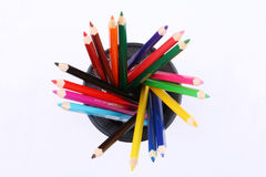 Color pencils. These are some color pencils Stock Image