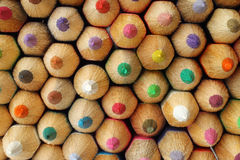 Color pencils background Stock Photos