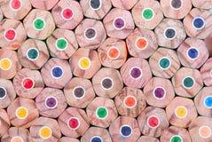 Color pencils background Stock Photos