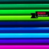Color pencils background for your design. Vector Stock Image