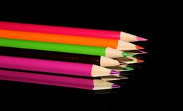 Color. Pencils color bright Royalty Free Stock Photography