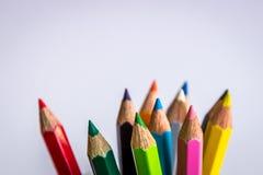 Color pencils Stock Images