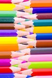 Color pencils close up Stock Image