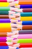 Color pencils close up Stock Image