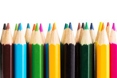 Color pencils. Close up of color pencils Royalty Free Stock Image
