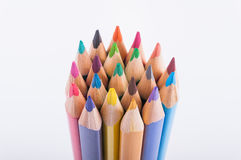 COLOR PENCILS CLOSE-UP Royalty Free Stock Image