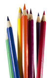 Color pencils closeup Royalty Free Stock Image