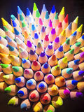 Color Pencils Closeup Royalty Free Stock Photo