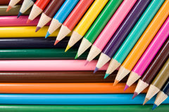 Color pencils crayons Stock Photo