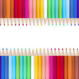 Color pencils. EPS 10 Stock Photography