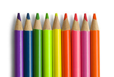 Color Pencils Group Royalty Free Stock Image