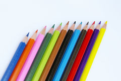 Color pencils II royalty free stock image