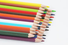 Color pencils. Image of color pencils Royalty Free Stock Images
