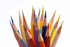 Wooden crayon Royalty Free Stock Image