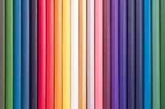 Color pencils isolated for background Royalty Free Stock Photos