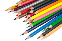 Color pencils Stock Images