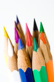 Color pencils macro Stock Photo