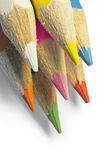 Color pencils macro Stock Image