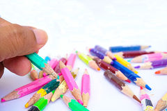 Color pencils. Royalty Free Stock Photo
