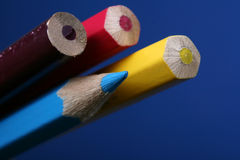 Color pencils. Pic of color pencils, macro royalty free stock images