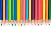 Color pencils set Stock Photography